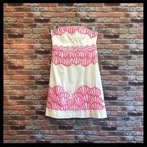 """Lilly Pulitzer Strapless """"Why The Shell No…"""
